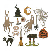 Frightful Things Sizzix Thinlits Dies By Tim Holtz - PRE ORDER
