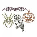 Geo Halloween Sizzix Thinlits Dies By Tim Holtz