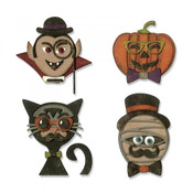 Hip Haunts Sizzix Thinlits Dies By Tim Holtz