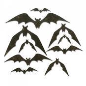 Bat Crazy Sizzix Thinlits Dies By Tim Holtz