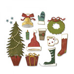 Festive Things Sizzix Thinlits Dies By Tim Holtz