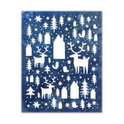 Nordic Winter Sizzix Thinlits Dies By Tim Holtz