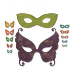 Masquerade Sizzix Thinlits Dies By Tim Holtz