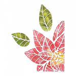 Poinsettia Pieces Sizzix Thinlits Dies By Tim Holtz