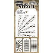 Set #42 Tim Holtz Mini Layered Stencil Set
