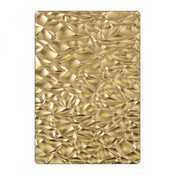 Crackle Sizzix 3D Textured Impressions Embossing Folder By Tim Holtz