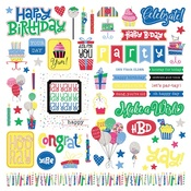 Confetti Element Sticker - Photoplay
