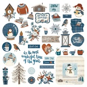 For The Love Of Winter Element Sticker - Photoplay - PRE ORDER