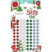 Assorted Colors Craft Consortium Adhesive Enamel Dots