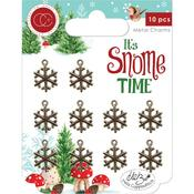 Snowflakes Craft Consortium It's Snome Time Metal Charms