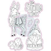 It's Snome Time Craft Consortium A5 Clear Stamps