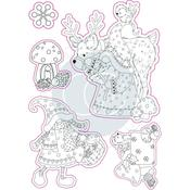 Mr. & Mrs. Snome Craft Consortium A5 Clear Stamps