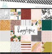 Honey & Spice 12 x 12 Paper Pad - Heidi Swapp
