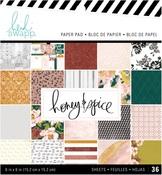 Honey & Spice 6 x 6 Paper Pad - Heidi Swapp