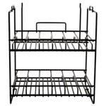 Distress Spray Stain Wire Rack