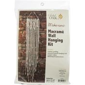 Three Flowers - Macrame Wall Hanger Kit