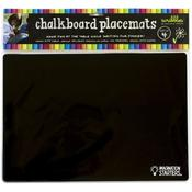 Black Reversible Chalkboard Placemats