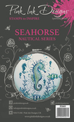 Seahorse - Pink Ink Designs A5 Clear Stamp Set