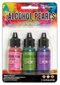 Kit #3 - Tim Holtz Alcohol Ink Pearls Kits 3/Pkg