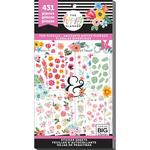 Romantic Florals - Happy Planner Sticker Value Pack