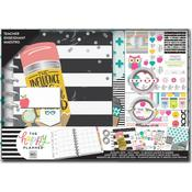 Never Be Erased, Teacher, Aug2019-Jul2020 - Happy Planner 12-Month Medium Planner Box Kit