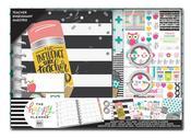 Never Be Erased, Teacher - Happy Planner 12-Month Medium Planner Box Kit - 2019-2020