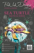 Sea Turtle - Pink Ink Designs A5 Clear Stamp Set