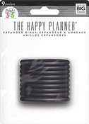 Black - Happy Planner Discs