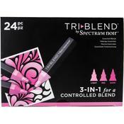 Spectrum Noir Tri-Blend Markers Set - 24/Pkg