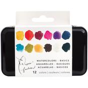 Paper Fashion Basic Watercolors Paint Set