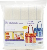"""Sophie 15""""X14""""X14"""" - June Tailor Quilt As You Go Tote Bag"""