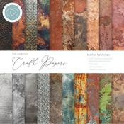 Metal Textures Craft Consortium Double-Sided 6 x 6 Paper Pad