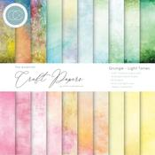 Grunge-Light Tones Craft Consortium 6 x 6 Double-Sided Paper Pad