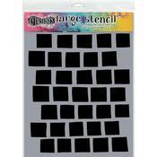 """Grid Dyan Reaveley's Dylusions Stencils 9"""" X 12"""""""