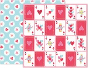 Paper 9 - Lucky Us - Pink Paislee