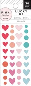 Lucky Us Enamel Dots - Pink Paislee