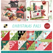Christmas Pals Glitter Accented Stack - DCWV