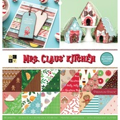 Mrs. Claus' Kitchen Glitter Accented Stack - DCWV
