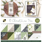 O Christmas Tree Foil Accented Stack - DCWV