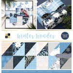 Winter Wonder Foil Accented Stack - DCWV