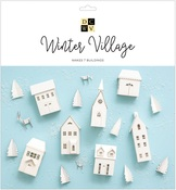 Winter Village Paper Project Stack - DCWV
