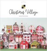 Christmas Village Stack - DCWV