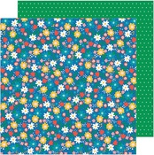 Birthday Blossoms Paper - Happy Cake Day - Pebbles