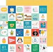 Birth-yay Paper - Happy Cake Day - Pebbles