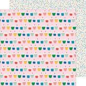 Hey Cupcake Paper - Happy Cake Day - Pebbles