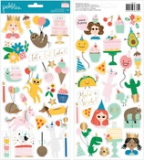 Happy Cake Day Sticker Sheet - Pebbles