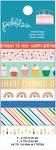 Happy Cake Day Washi Tape - Pebbles