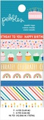Happy Cake Day Washi Tape - Pebbles