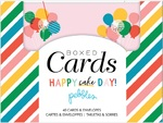Happy Cake Day Boxed Card Set - Pebbles