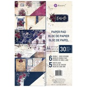 Darcelle Collection A4 Paper Pad - Prima